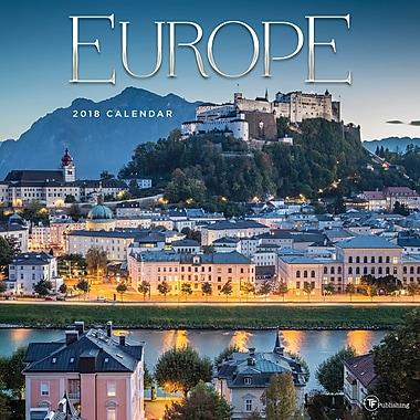 Tf Publishing 2018 Europe Wall Calendar 12