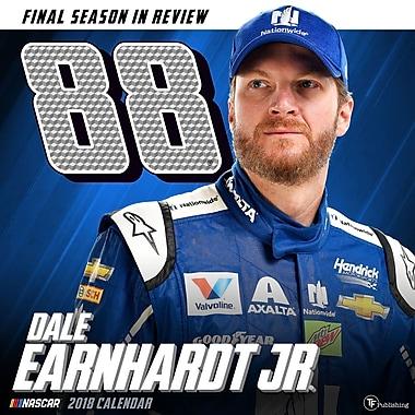 Tf Publishing 2018 Dale Earnhardt Jr. Wall Calendar 12