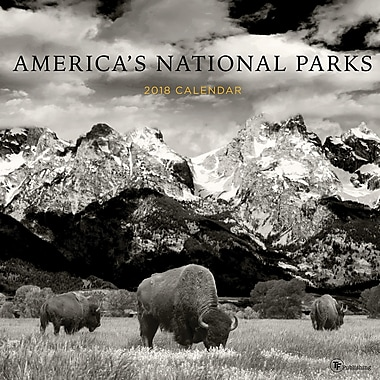 Tf Publishing 2018 America's National Parks Wall Calendar 12