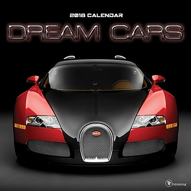 Tf Publishing 2018 Dream Cars Wall Calendar 12