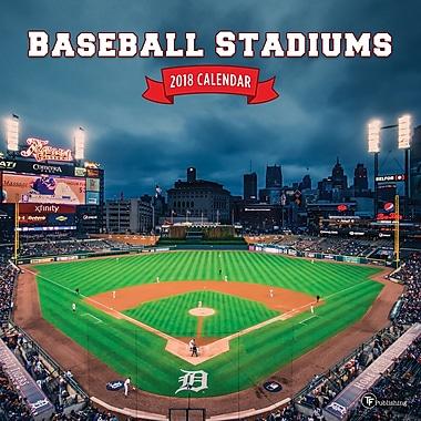 Tf Publishing 2018 Baseball Stadiums Wall Calendar 12