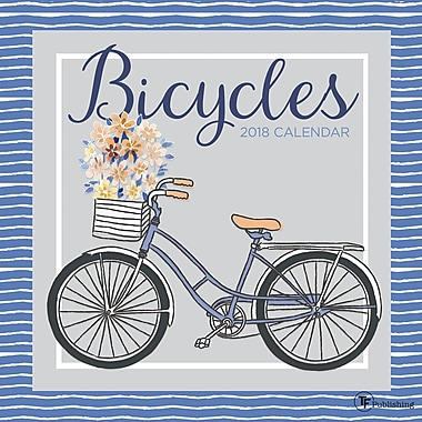 Tf Publishing 2018 Bicycles Wall Calendar 12
