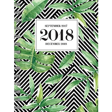 Tf Publishing 2018 Jungle Medium Weekly Monthly Planner 6.5