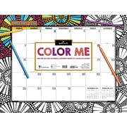 "Tf Publishing 2018 Color Me By Hallmark Desk Blotter 22"" x 17"""