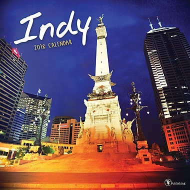 Tf Publishing 2018 Indy Wall Calendar 12