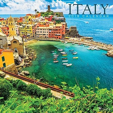 Tf Publishing 2018 Italy Wall Calendar 12