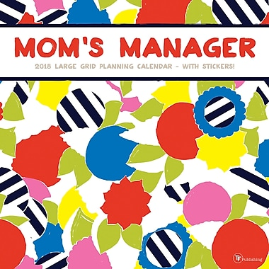 Tf Publishing 2018 Mom's Manager Wall Calendar 12