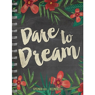Tf Publishing 2018 Dare To Dream Medium Weekly Monthly Planner 6.5