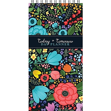 Tf Publishing Nondated Floral Bloom Today And Tomorrow Day Planner 4