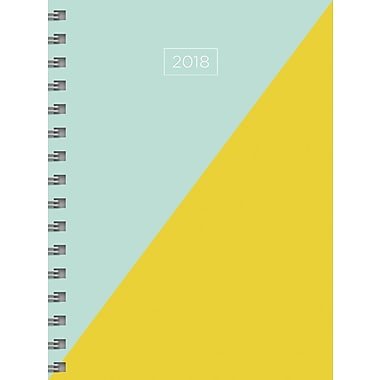 Tf Publishing 2018 Diag Medium Weekly Monthly Planner 6.5