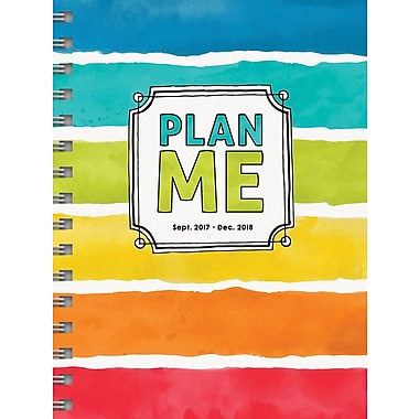 Tf Publishing 2018 Plan Me Medium Weekly Monthly Planner 6.5