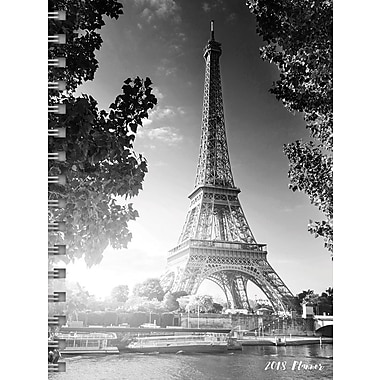 Tf Publishing 2018 Paris Medium Weekly Monthly Planner 6.5