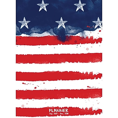Tf Publishing 2018 America Monthly Planner 7.5