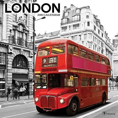 Tf Publishing 2018 London Wall Calendar 12