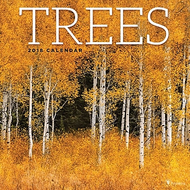 Tf Publishing 2018 Trees Wall Calendar 12