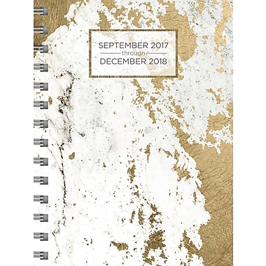 Tf Publishing 2018 Marble Medium Weekly Monthly Planner 6.5