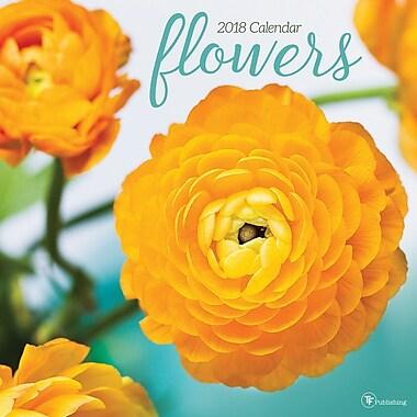 Tf Publishing 2018 Flowers Wall Calendar 12