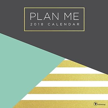 Tf Publishing 2018 Plan Me Wall Calendar 12