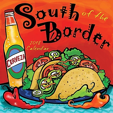 Tf Publishing 2018 South Of The Border Wall Calendar 12