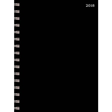 Tf Publishing 2018 Black Medium Weekly Monthly Planner 6.5