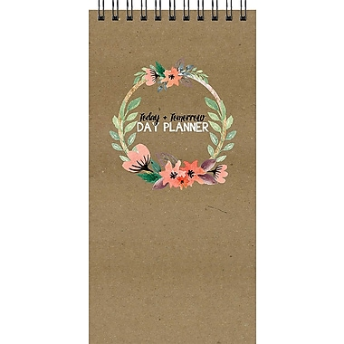 Tf Publishing Nondated Floral Today And Tomorrow Day Planner 4