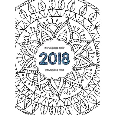 Tf Publishing 2018 Color Me Monthly Planner 7.5