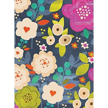 Tf Publishing 2018 Blooming Monthly Planner 7.5