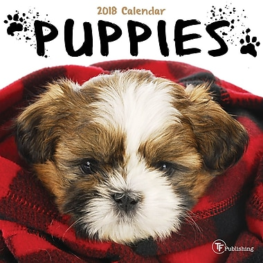 Tf Publishing 2018 Puppies Mini Calendar 7