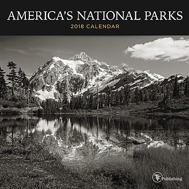 Tf Publishing 2018 America's National Parks Mini Calendar 7
