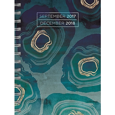 Tf Publishing 2018 Geodes Medium Weekly Monthly Planner 6.5