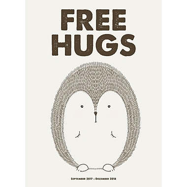 Tf Publishing 2018 Free Hugs Monthly Planner 7.5