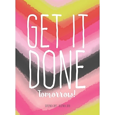 Tf Publishing 2018 Get It Done Monthly Planner 7.5