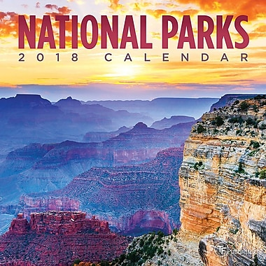 Tf Publishing 2018 National Parks Mini Calendar 7