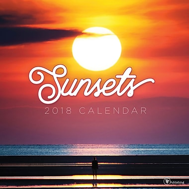 Tf Publishing 2018 Sunsets Wall Calendar 12