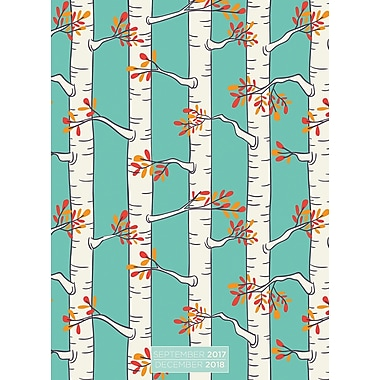 Tf Publishing 2018 Birch Trees Monthly Planner 7.5