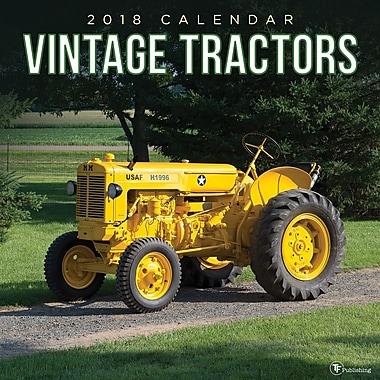 Tf Publishing 2018 Vintage Tractors Wall Calendar 12