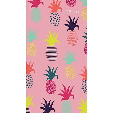 Tf Publishing 2018-2019 Pineapples 2 Year Pocket Planner 3.5
