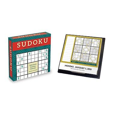 Tf Publishing 2018 Sudoku Daily Desktop Calendar 5.5