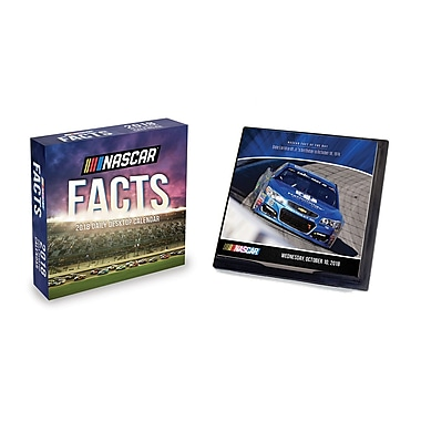 Tf Publishing 2018 Nascar Facts Daily Desktop Calendar 5.5