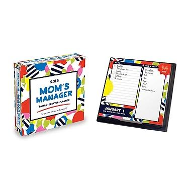Tf Publishing 2018 Mom's Manager Daily Desktop Calendar 5.5