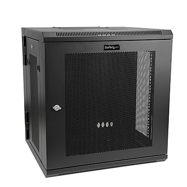 StarTech® 12U Wall-Mount Server Rack Cabinet, Up to 17