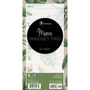 """Tf Publishing Nondated Leaves Memo Magnet Pad 4"""" x 8"""""""