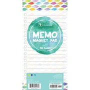 "Tf Publishing Nondated Confetti Memo Magnet Pad 4"" x 8"""