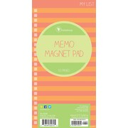 "Tf Publishing Nondated Stripes Memo Magnet Pad 4"" x 8"""