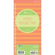 "Tf Publishing Nondated Stripes Memo Magnet Pad 4"" x 8"""