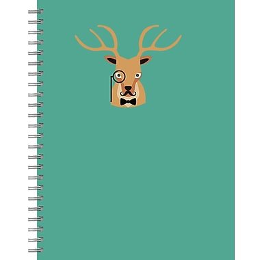 Tf Publishing Oh Deer Lined Spiral Journal 7