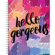 """Tf Publishing Hello Gorgeous Lined Spiral Journal 7"""" x 9"""""""