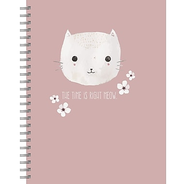 Tf Publishing Pretty Kitty Lined Spiral Journal 7
