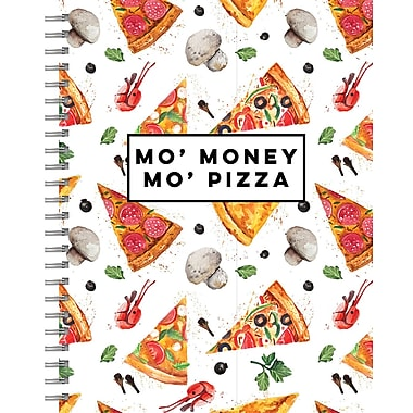 Tf Publishing Mo' Pizza Lined Spiral Journal 7