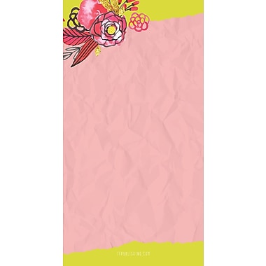 Tf Publishing Nondated Flowers Memo Magnet Pad 4